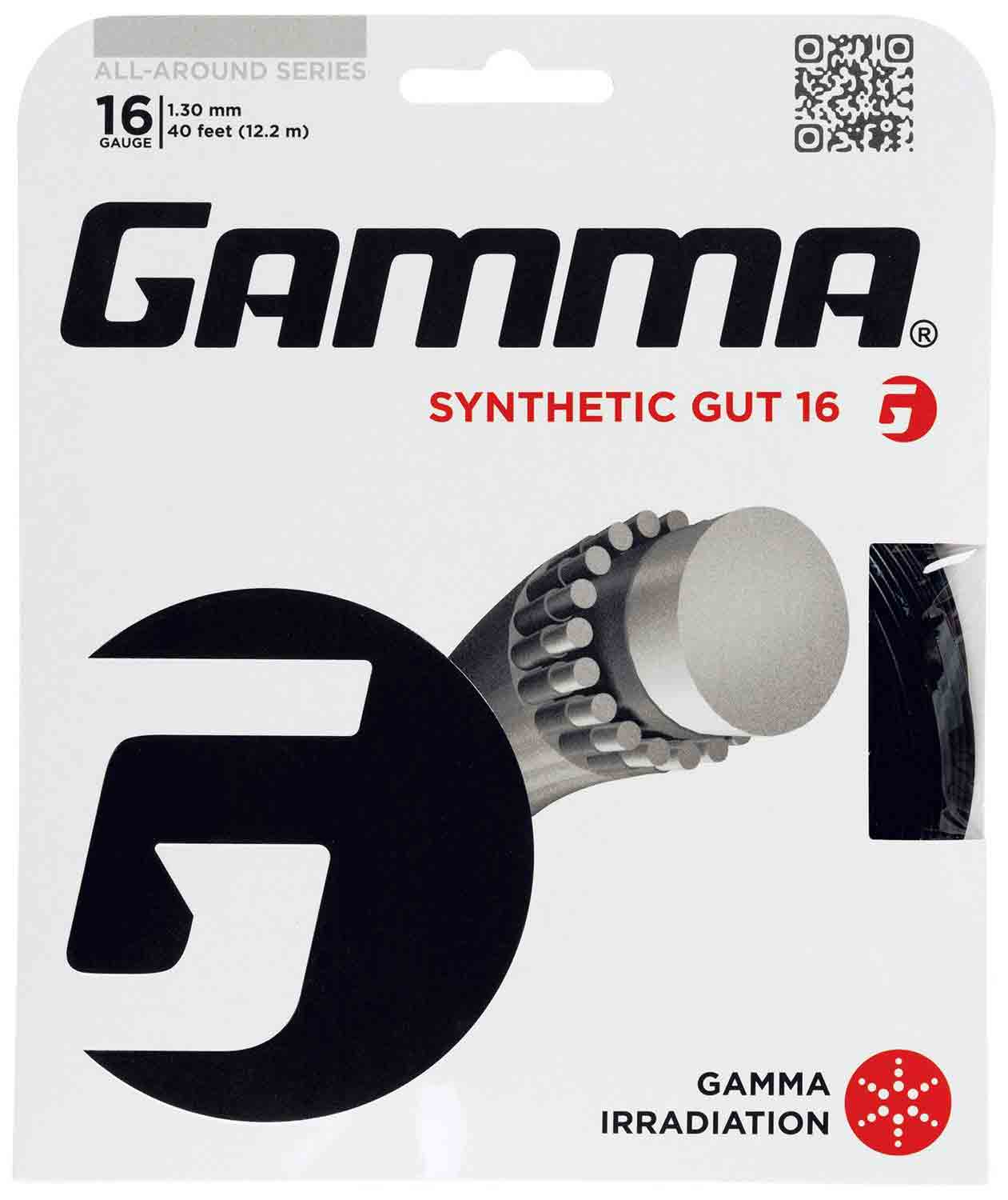 Gamma Synthetic Gut Tennis String. Tennis String, Tennis Stringing, Tennis Restringing, Tennis Restring, Change Tennis String, Tennis String Repair, Tennis String Replacement, Singapore