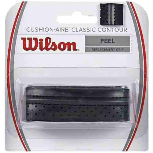 Wilson Cushion-Aire Classic Contour Grip, Wilson badminton replacement grip, Wilson tennis replacement grip, Wilson squash replacement grip, Singapore.